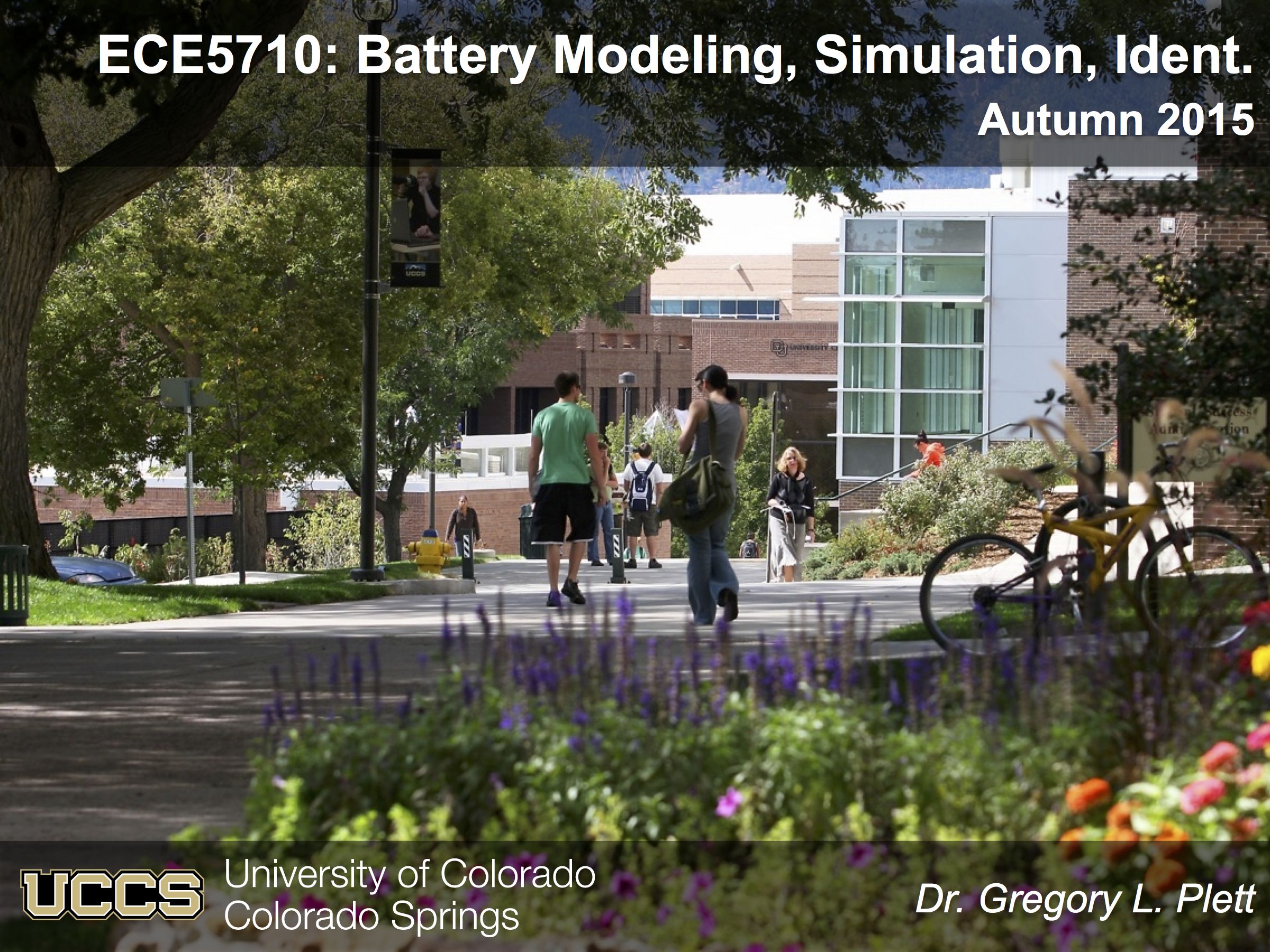 ECE4710/5710: Modeling, Simulation, and Identification of Battery